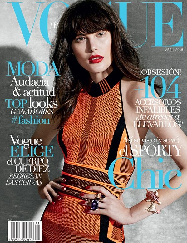 Vogue Mexico April 2015 Catherine McNeil James Macari