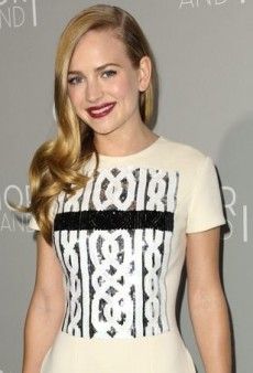 Britt Robertson Continues to Charm in Christian Dior