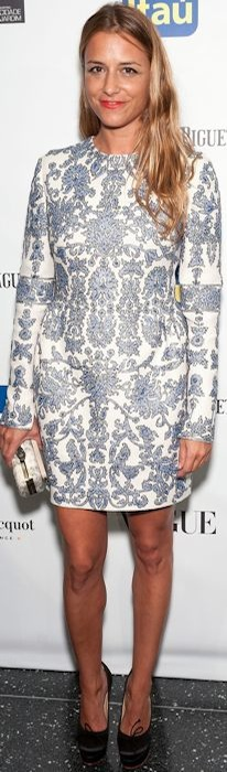 Charlotte Ronson in Valentino at the 11th BrazilFoundation NYC Gala
