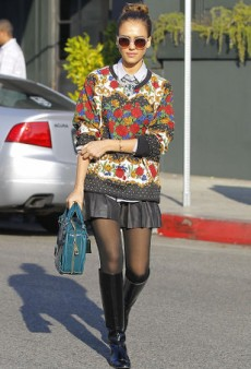 34 Reasons Jessica Alba Wins at Street Style