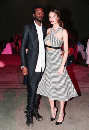 Nciole Trunfio and Gary Clark Jnr-FROW