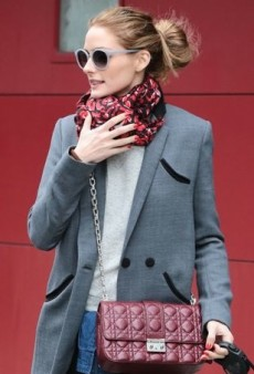 Olivia Palermo Walks Her Dog in Style Courtesy of Whistles