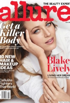 Blake Lively Looks Effortlessly Beautiful on Allure's May Cover (Forum Buzz)