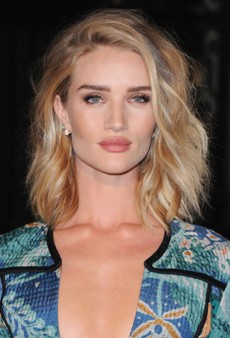 Amber Heard, Lake Bell and Rosie Huntington-Whiteley Embrace Beach Waves for a Night Out