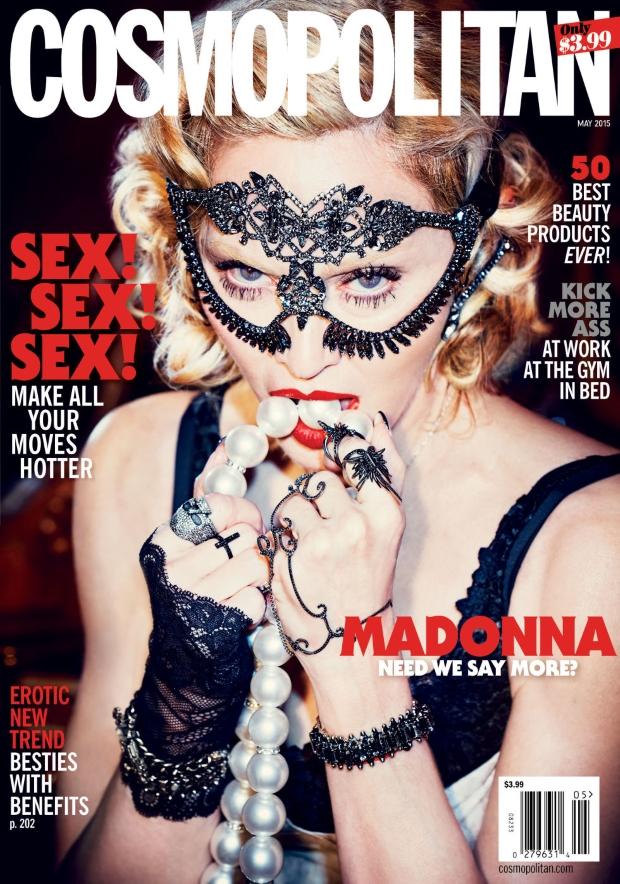 Cosmopolitan May 2015 Madonna Ellen von Unwerth