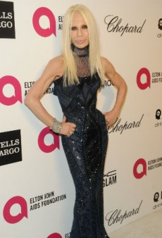 Donatella Versace Claps Back at Giorgio Armani's Comments about Her Late Brother