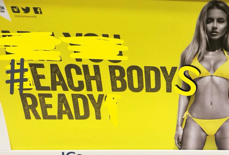 Each Body's Ready campaign