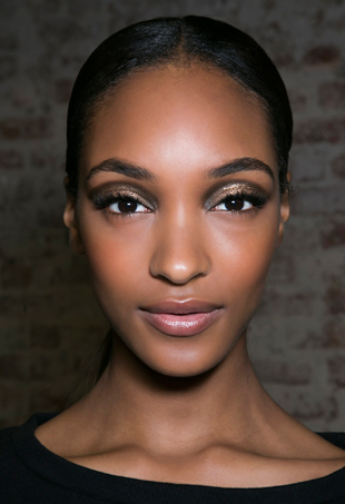 Jourdan Dunn backstage at Jason Wu Spring 14