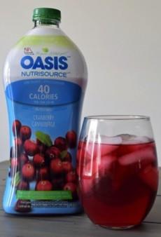 Breakfast in a Flash: Cranberry Razz Smoothie