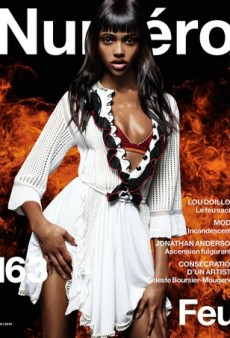 Aya Jones Looks 'Smoking Hot' on Numéro's May 2015 Cover (Forum Buzz)