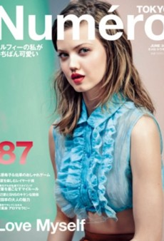 Lindsey Wixson Returns to Numéro Tokyo and We Love It (Forum Buzz)