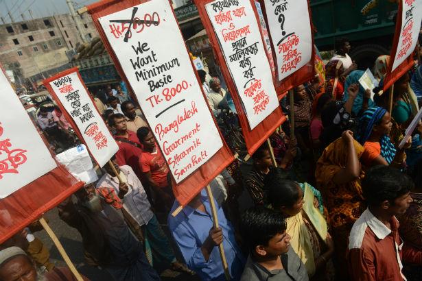 Rana Plaza demonstration