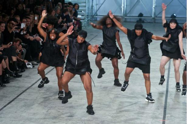 Rick Owens Step Dancers