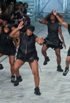 Rick Owens Talks about Runway Diversity and Reactions to His Spring 2014 Step Show