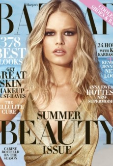 Anna Ewers Channels Brigitte Bardot on the May Cover of Harper's Bazaar (Forum Buzz)