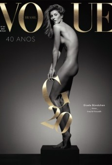 Gisele Bündchen Goes Completely Nude for Vogue Brazil (Forum Buzz)