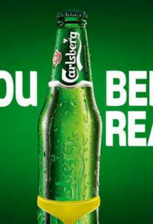 Carlsberg beer body ready