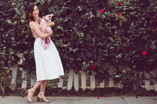 16 Fashion Bloggers Who Prove That Being a Mom Is Chic