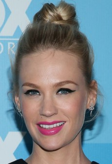 Get January Jones' Bold, Bright Summer Makeup Look
