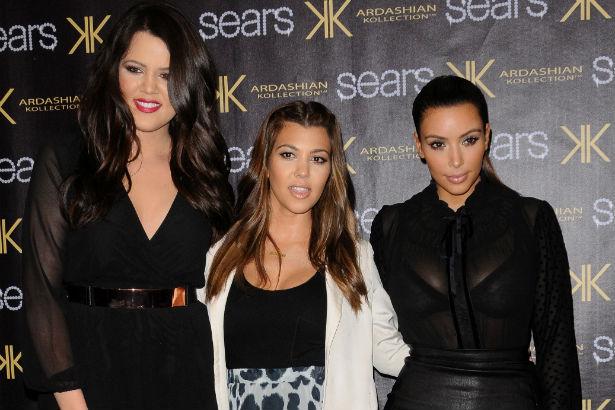 Khloe, Kourtney and Kim Celebrate Kardashian Kollection Sears
