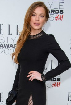 Lindsay Lohan Started Her Community Service at a Brooklyn School… for Children
