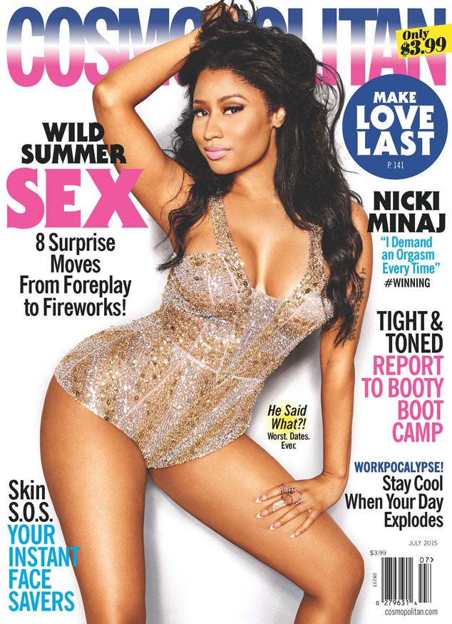 Nicki Minaj Cosmopolitan