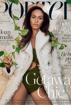Joan Smalls Looks 'Dull' on Porter's Summer Escape Issue (Forum Buzz)
