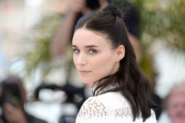 rooney-mara-cannes-updo