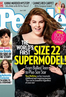 Plus-Size Model Tess Holliday Covers People Magazine