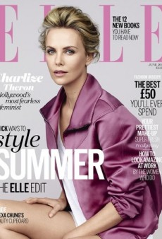 Charlize Theron Wins Over Our Forums on UK ELLE's June 2015 Cover (Forum Buzz)