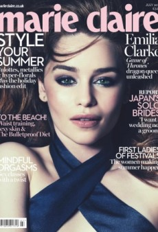 Emilia Clarke's Cover for UK Marie Claire Is Her Best Yet (Forum Buzz)