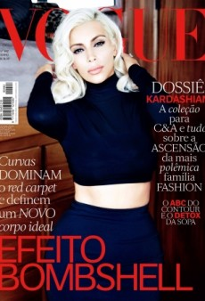 Kim Kardashian Channels Marilyn Monroe on Vogue Brazil (Forum Buzz)