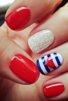 Celebrate the 4th of July with These Patriotic Nail Art Ideas