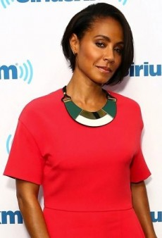 Jada Pinkett Smith Amps up Her MSGM Romper with a Geometric Necklace