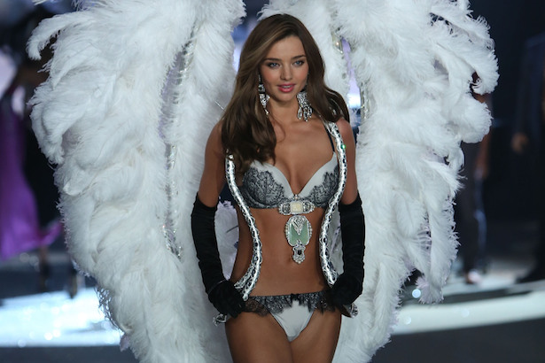 Miranda Kerr on Victoria's Secret runway