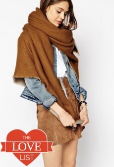 Oversized Scarves and Wraps: The Love List