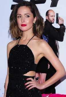 Rose Byrne Sparkles at the 'Spy' Premiere in Osman