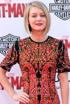 Ryan Simpkins Stuns in a Richly Embroidered Dress
