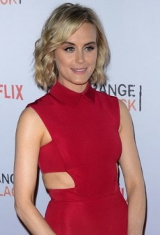 Taylor Schilling Revs Up the Red at the OrangeCon Fan Event