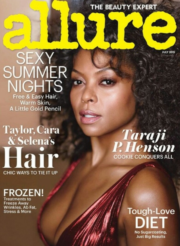 US Allure July 2015 Taraji P. Henson by Carter Smith