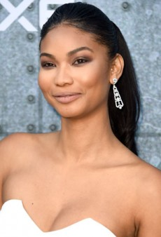 Chanel Iman Pairs a Summery Ponytail with Sultry Eye Makeup