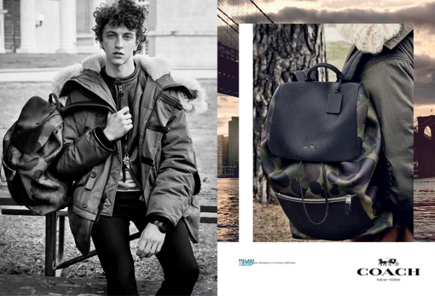 Coach Menswear Fall 2015 Campaign by Steven Meisel