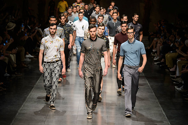 2017 mens fashion trends - Dolce Amp Gabbana Men S Spring 2016 Runway Thefashionspot