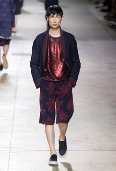 Dries Van Noten Men's Spring 2016 Runway