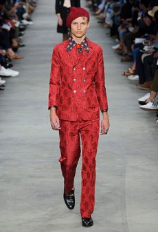 Gucci Men's Spring 2016 Runway