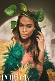 Joan Smalls Poses for Porter Magazine in Native Puerto Rico