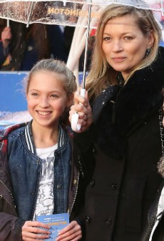 Lila Moss Thinks Mom Kate Moss Is Totally Embarrassing