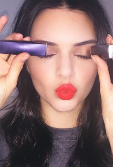 Of Course Kendall Jenner Has Her Own Shade of Estée Lauder Lipstick