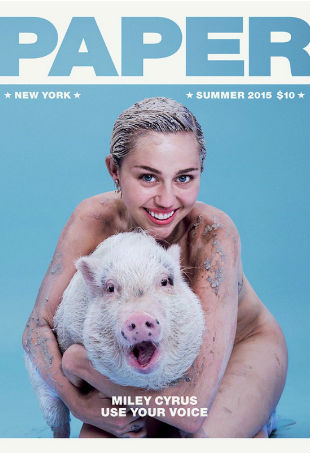 Miley Cyrus Paper Magazine