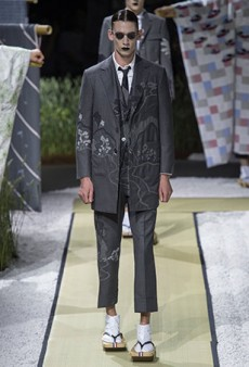 Thom Browne Men's Spring 2016 Runway